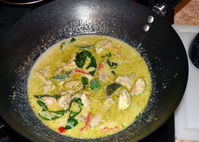 Cooking-Green-Curry